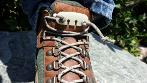 Never tie your hiking boots again