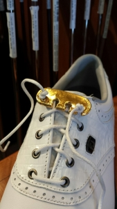 Lace Latch for golf shoes