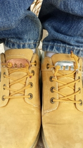 Secure your work boot shoelaces with Lace Latch