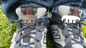 Lace Latch works with New Balance shoes