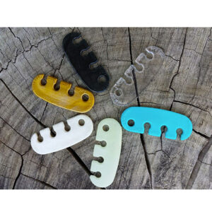 Lace Latch shoelace securing devices color selection