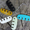 Lace Latch comes in many colors including clear and glow in the dark