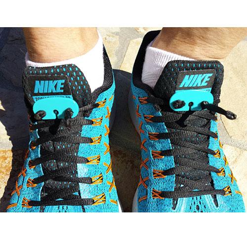 Lace Latch shoelace locks on Nike shoes