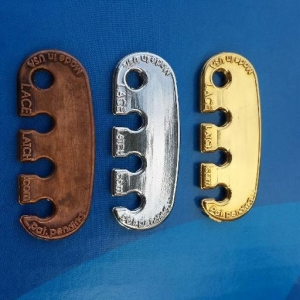 Lace Latch is available in Copper, Silver, and Gold
