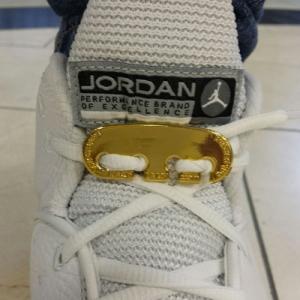 Gold Lace Latch lock replacment for Jordans