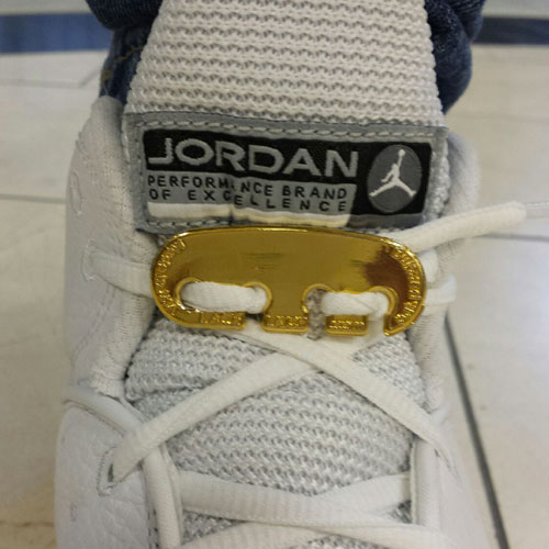 Gold Lace Latch lock replacment for Jordans